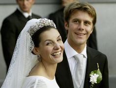 Emanuele Filiberto, Prince of Venice and Piedmont and Clothilde Courau, September 25, 2003