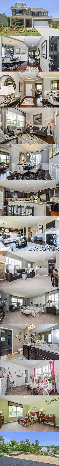 A 4 bedroom, 3.5 bath home featuring a large kitchen open to a family room, formal dining and living room, an optional study, a spacious owner's suite upstairs, plus a bonus room or optional 5th bedroom and loft.