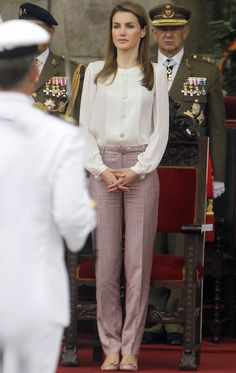 Rosa+pastel -  Princess Letizia of Spain -  summer looks