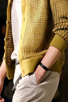 Hermès knit cardigan, perfect layer for the spring and summer // menswear style & fashion