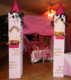 Princess Party Columns