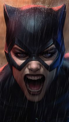 30947 Wallpapers - Mobile Abyss - Page 35 Batgirl, Batman Und Catwoman, Costume Catwoman, Catwoman Makeup, Dc Comics Art, Marvel Dc Comics, Comic Books Art, Comic Art, Harley Queen