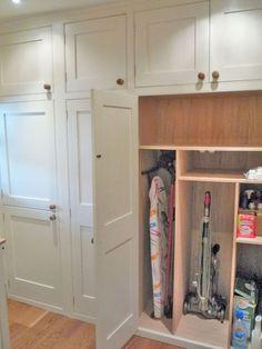 Ideas kitchen wall storage cabinets hallways for 2019 Wall Storage Cabinets, Kitchen Wall Storage, Kitchen Wall Cabinets, Laundry Room Organization, Laundry Rooms, Storage Shelves, Kitchen Pantry, Kitchen Shelves, Wall Pantry