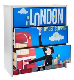 Armario de Ikea + tu poster favorito + ModPodge = Proyecto super molón >> Go Graphic:  DIY Poster Front Dresser   HGTV
