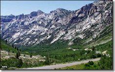 Lamoille Canyon, Ruby Mountains, Nevada