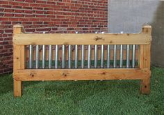 Musical Fence -- Natural Playgrounds Store Would be easy to make! Playground Design, Backyard Playground, Playground Ideas, Fence Sections, Natural Fence, Sensory Garden, Diy Garden, Garden Ideas, Outdoor Classroom