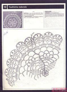 Picasa Web Albums Crochet Diagram, Crochet Chart, Filet Crochet, Doily Patterns, Mandala Pattern, Crochet Patterns, Crochet Books, Crochet Home, Crochet Mandala
