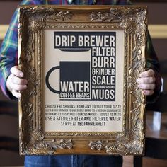 #coffee #print #typography #poster
