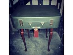 2 suitcase storage coffee tables. vintage shabby chic upcycled unique Partick Picture 2 Treemendus Glasgow £45