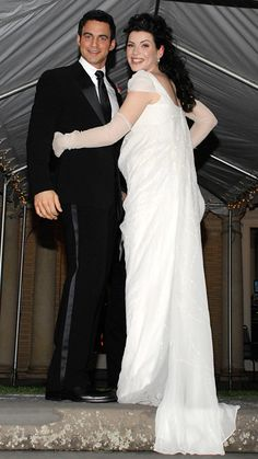 The Best Dressed Celebrity Brides of All Time - Julianna Margulies from #InStyle