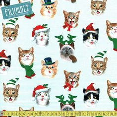 Toaster Cover Christmas Cats Made to Order Made to Order Merry Christmas, Christmas Cats, Christmas Decor, Christmas Fabric, Christmas Images, Christmas Ideas, Novelty Fabric, Novelty Print, Make And Do Crew