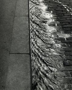 Sidewalk, Paris by André Kertész • 1929 • As part of the Bruce Silverstein Gallery — Estate of André Kertész (1925-1930: Paris)
