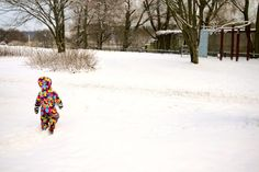 """""""There is no such thing as bad weather, only bad clothing,"""" says Aleasha Kimber of @littletravellerthings. All the more reason why you need to check out her city guide to visiting the Finnish capital of Helsinki at http://www.suitcasesandstrollers.com/interviews/view/finland-with-kids-helsinki-insider?l=all #GoogleUs #suitcasesandstrollers #travel #travelwithkids #familytravel #familytraveltips #traveltips #Finland #Helsinki #snow #snowbunny #puffysuit #marshmallow #cute"""
