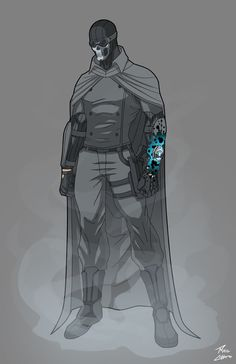 Gray Ghost Redesign commission by phil-cho on DeviantArt