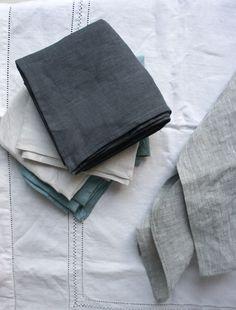 envelope - linen handkerchief