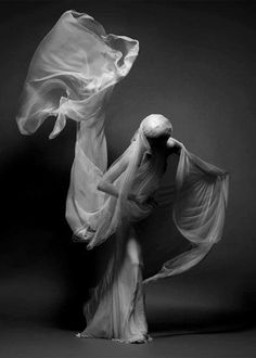 """""""The only way to make sense out of change is to plunge into it, move with it, and join the dance."""" ― Alan Wilson Watts (Solve Sundsbo, model Elena Sudakova.)"""