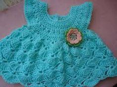Resultado de imagen para patrones de ganchillo para vestidos de niña