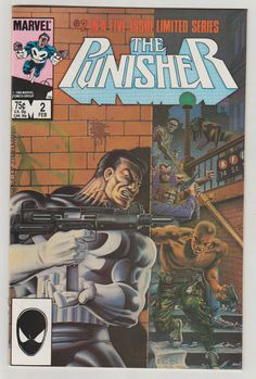 Punisher Vol 1 2 Copper Age Comic Book. NM. by RubbersuitStudios #punisher #mikezeck #comicsforsale