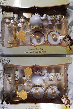 Beauty and the Beast 44033: Disney Beauty And The Beast Deluxe Singing Tea Set 2017 -> BUY IT NOW ONLY: $54.99 on eBay!