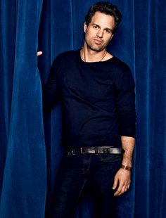 Mark Ruffalo.... So glad my man just doesn't see how sexy I think he is... No jealousy issues that way ;)