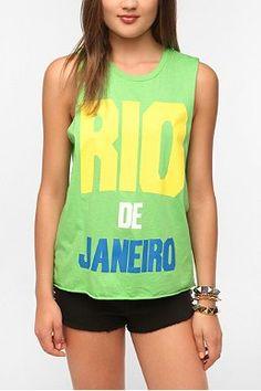 Altru Rio De Janeiro Muscle Tee