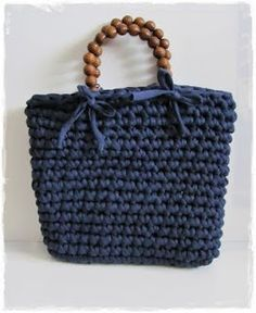 Do it yourself: Bolsos de trapillo: