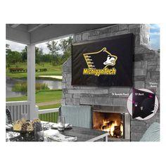 Michigan Tech Huskies Indoor/Outdoor TV Cover