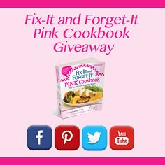 Fix-It and Forget-It Pink Giveaway
