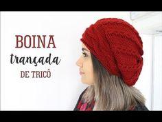 (35) BOINA TRANÇADA | TRICÔ - YouTube