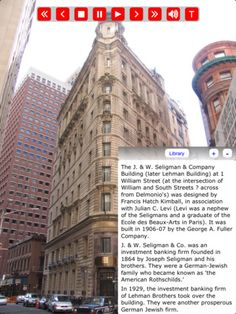 ... tour all of historic NYC on your iPad for only 9.95$