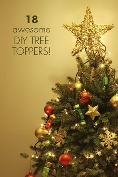 Tree toppers, Trees and Berries on Pinterest