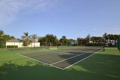 Cambridge Park Tennis Courts, Nicely maintained