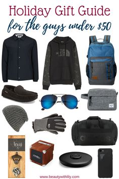 Ultimate Gift Guide For The Guys // Men's Gift Guide & Men's Stocking Stuffer Ideas Gifts For College Boys, College Student Gifts, Gifts For Boys, Guy Gifts, Thoughtful Gifts For Him, Great Gifts For Men, Christmas Gifts For Boyfriend, Gifts For Your Boyfriend, Cute Couple Gifts