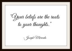 Your Beliefs Are The Roots - Inspirational Wisdom Calligraphy - FREE Instant Digital Download Delivery! by MasterMindWisdom on Etsy