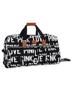 Large Wheelie:  I adore this bag with rolling wheels, retractable handles, and shoulder strap.  Perfect weekend getaway bag.  Add it to my list please!  $128.00.