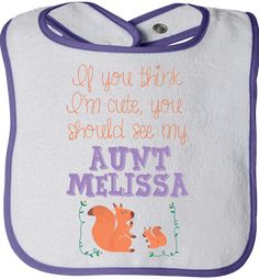 There is no better way to show your love for your nephews or nieces than with this cute bib!   Exclusively made available on http://LiveLoveFamily.com. Get yours immediately, click the image now!