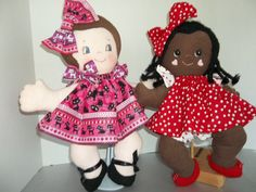 Cloth Rag Doll PDF Pattern Puddin' Pie Easy Soft by PeekabooPorch