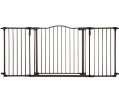 North States Supergate Deluxe Decor Metal Gate