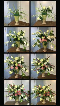 Cursos de floristerías gratis por internet. Paso por paso como hacer arreglos de flores.