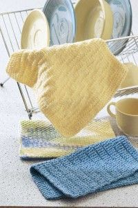 Very simple Free Designer Dishtowel Knitting Pattern great for times when you want to talk/read/watch tv while knitting
