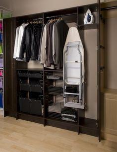 Closets: Closet Storage Accessories From Closet U0026 Storage Concepts,  Gentlemanu0027s Closet