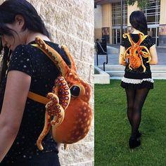 Adorable! Octopus bag