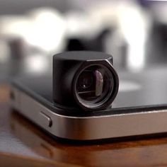 The HiLo Lens lets you take photos with interesting angles on your iPhone