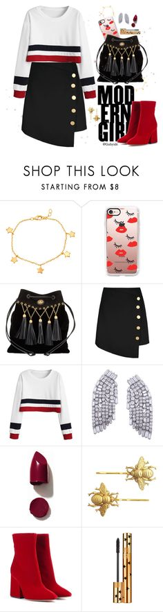 """🎈"" by gabyidc ❤ liked on Polyvore featuring Mia Sarine, Casetify, Miu Miu, NARS Cosmetics, Maison Margiela and Yves Saint Laurent"