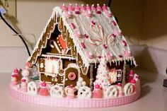 Gingerbread house competitions are the best at christmas