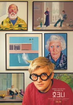 [영화] 호크니 Hockney Keys Art, David Hockney, Aesthetic Art, Word Art, Book Design, Illustrations Posters, Movie Posters, Film Poster, Graphic Design