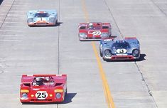 Early goings at the 1971 Sebring 12 Hour GP | A photo from t… | Flickr