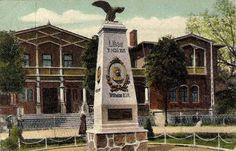 Denkmal zur Erinnerung das Einzuges der deutschen in Libau. 1916
