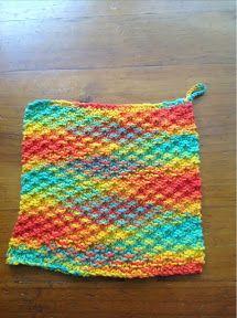 Dish Cloth - Knitting Pattern