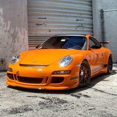 Kickass Porsche 997 GT3 RS
